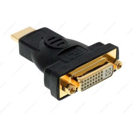 Фото - Аксессуар Vcom DVI-D 25F to HDMI 19M VAD7819 аксессуар perfeo hdmi a dvi d 2m d8001