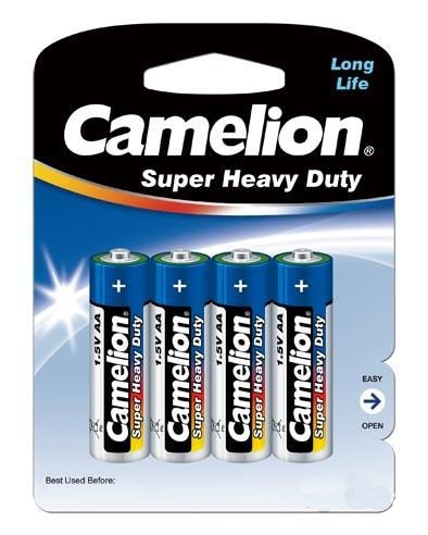 Батарейка AA - Camelion Blue R6 R6P-BP4B (4 штуки)