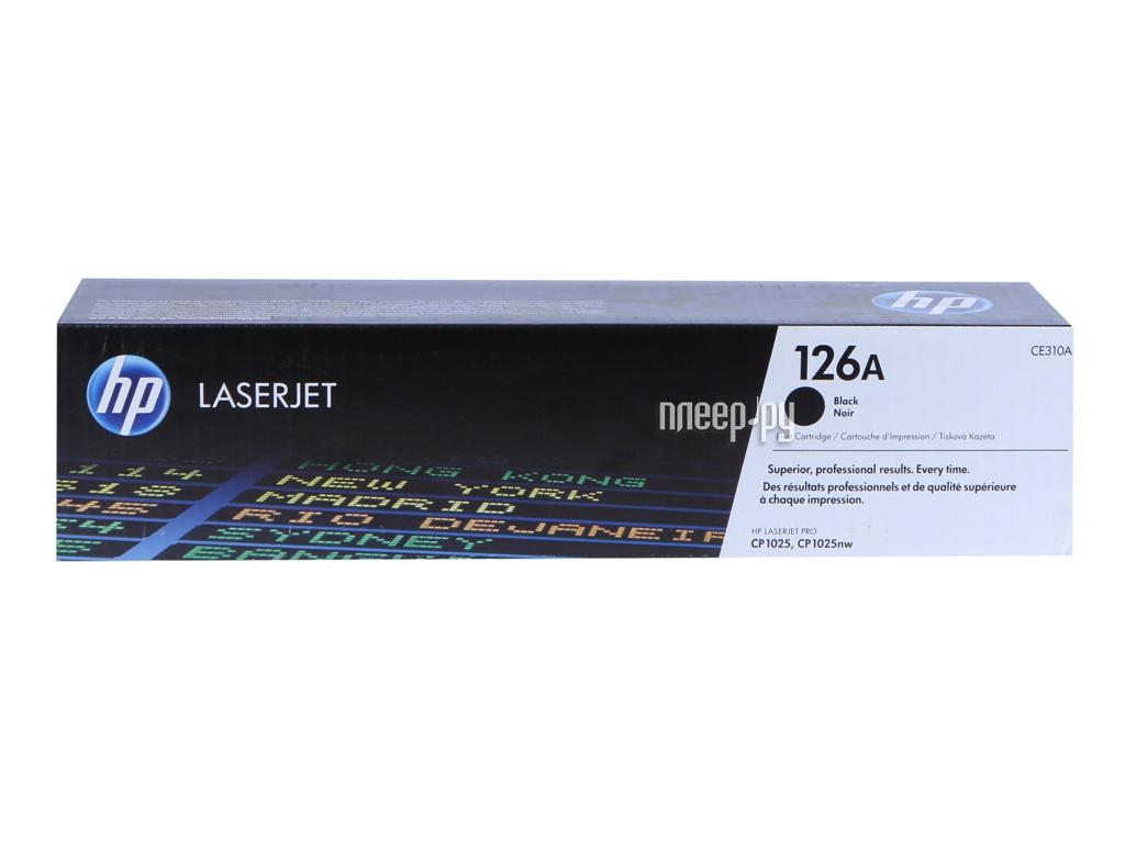 hp 45 51645ae black Картридж HP 126A CE310A Black для LaserJet CP1025 / CP1025nw