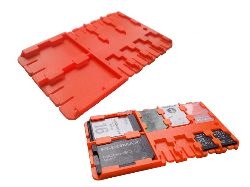 5003 holder Футляр REFI Holder SD / microSD / SIM Orange
