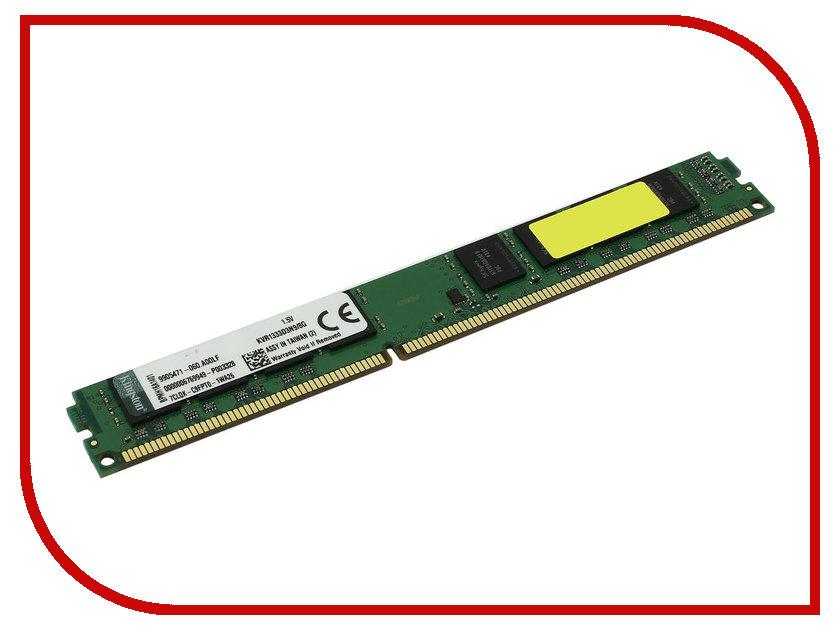 Купить Модуль памяти Kingston DDR3 DIMM 1333MHz PC3-10600 - 8Gb KVR1333D3N9/8G, PC3-10600 DIMM DDR3
