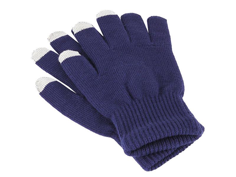 Купить Теплые перчатки для сенсорных дисплеев iGlover Classic р.UNI Blue