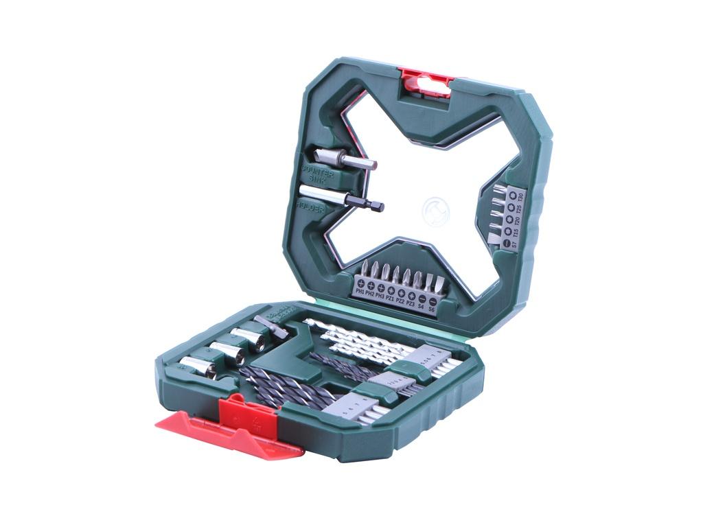Набор сверл и бит Bosch X-Line Classic X34 34 предмета 2607010608