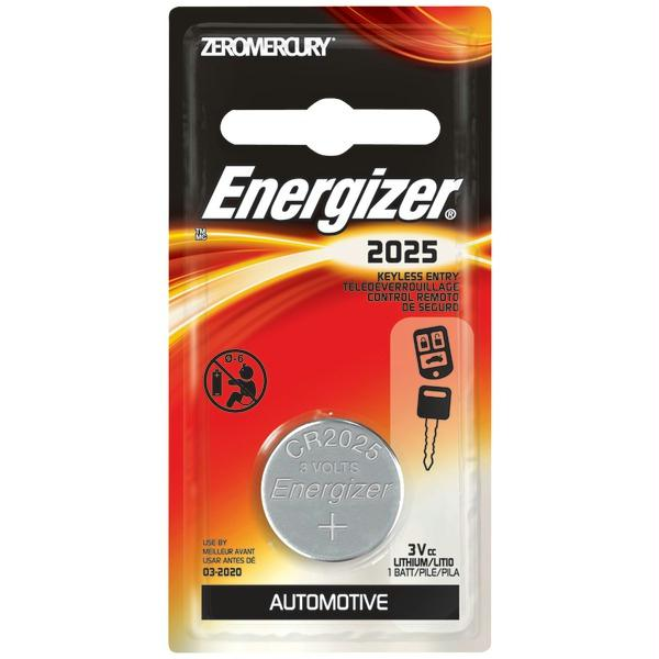 Батарейка CR2025 - Energizer Miniature Enr Lithium PIP1 (1 штука) E301021601 / 21248