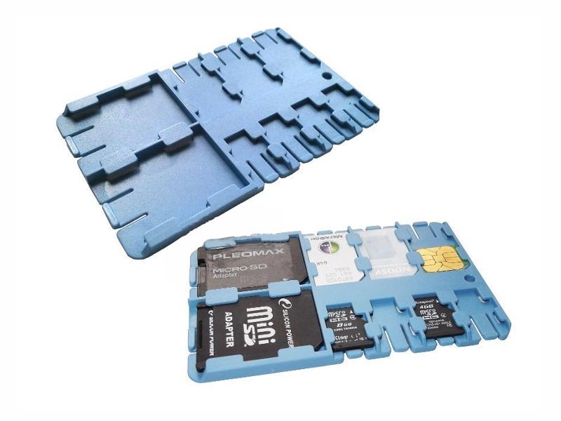 Футляр REFI Holder SD / microSD / SIM Light Blue