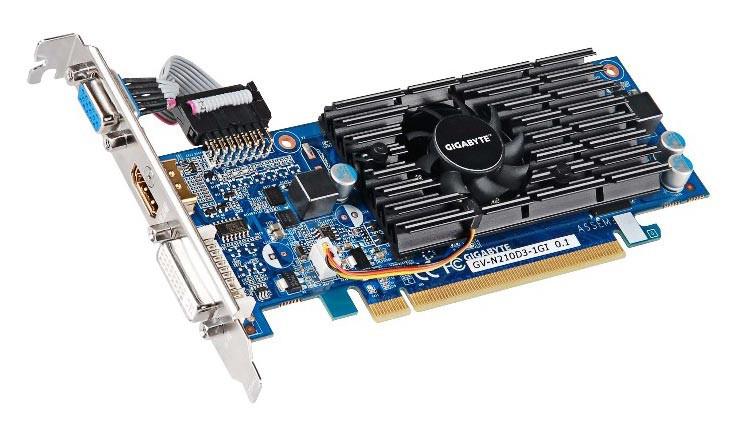 geforce gtx1060 zotac amp Видеокарта GigaByte GeForce GT 210 590Mhz PCI-E 2.0 1024Mb 1200Mhz 64 bit DVI HDMI HDCP GV-N210D3-1GI
