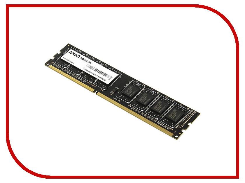 Купить Модуль памяти AMD DDR3 DIMM 1333MHz PC3-10600 - 2Gb R332G1339U1S-UO, PC3-10600 DIMM DDR3 1333MHz