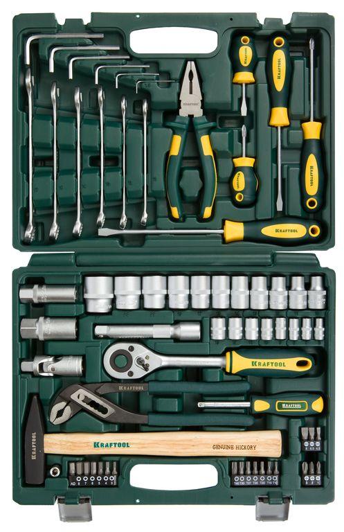 очки защитные kraftool expert 11009 55627 Набор инструмента Kraftool EXPERT 27976-H66