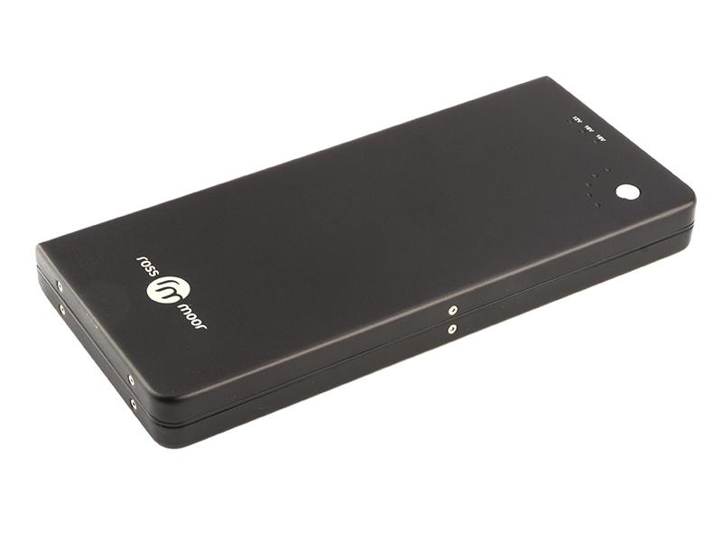 Внешний аккумулятор Ross&Moor Power Bank PB-12000 12000mAh Black