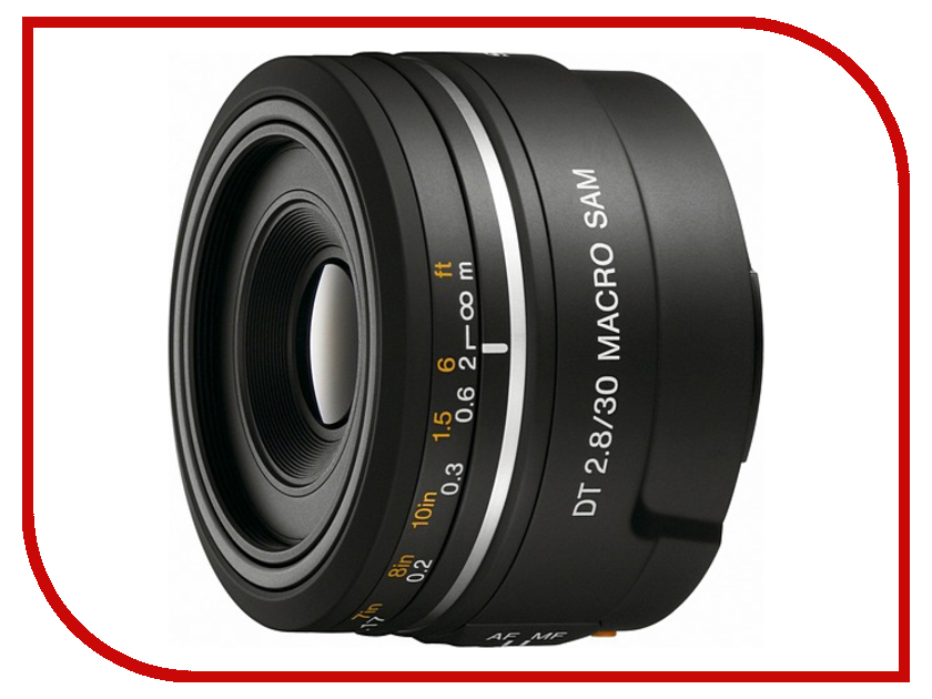 izmeritelplus.ru: Объектив Sony DT 30 mm F/2.8 Macro SAM SAL-30M28*