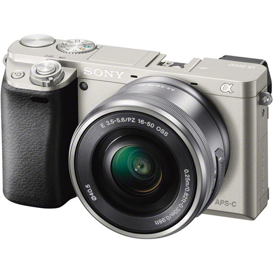 фотоаппарат canon eos 250d kit 18 55mm f 4 5 6 is stm silver 3461c001 Фотоаппарат Sony Alpha A6000 Kit 16-50 mm F/3.5-5.6 E OSS PZ Silver
