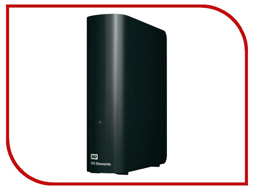 Купить Жесткий диск Western Digital Elements 2Tb USB 3.0 Black WDBWLG0020HBK-EESN