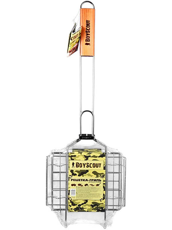 решетка гриль rosenberg складной r 440101 Решетка-гриль Boyscout 61307 для сосисок и колбасок
