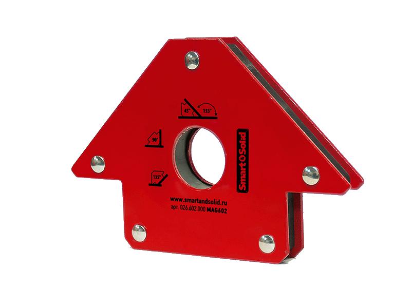 магнитный угольник foxweld fix 3 Магнитный угольник Smart&Solid MAG602