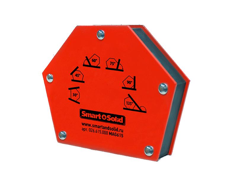 магнитный угольник foxweld fix 3 Магнитный угольник Smart&Solid MAG615
