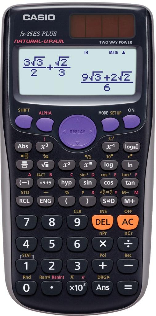 defort dfs 135n Калькулятор Casio FX-85ESPLUS - двойное питание