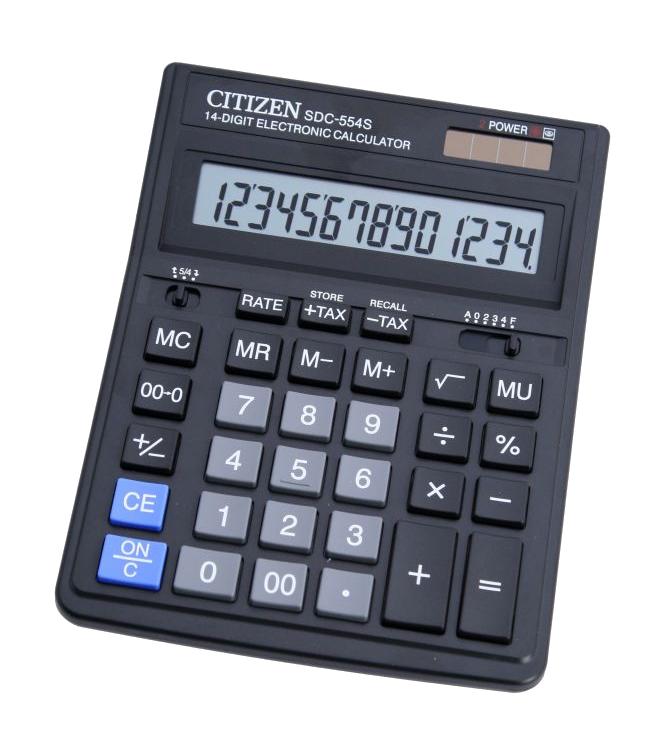купить калькулятор citizen sdc 554s Калькулятор Citizen SDC-554S