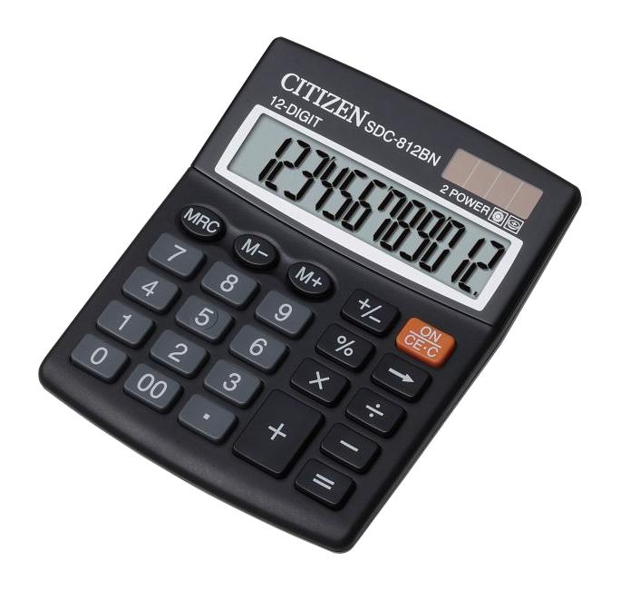 купить калькулятор citizen sdc 554s Калькулятор Citizen SDC-812BN