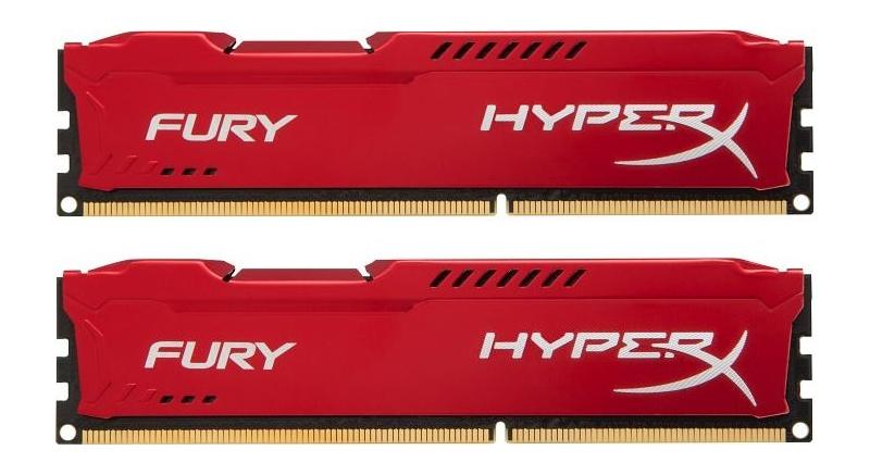 Модуль памяти HyperX Fury HX316C10FRK2/16 Red