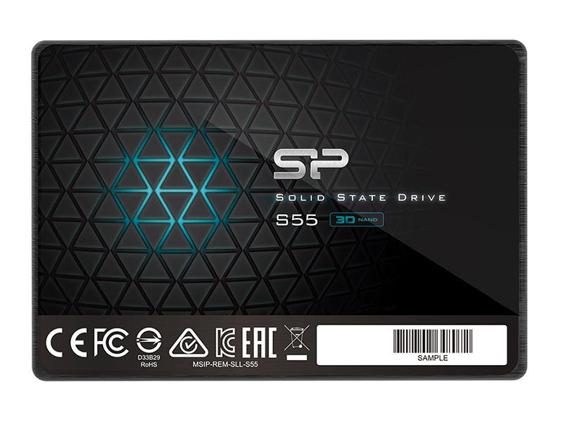 Твердотельный накопитель Silicon Power Slim S55 480Gb SP480GBSS3S55S25