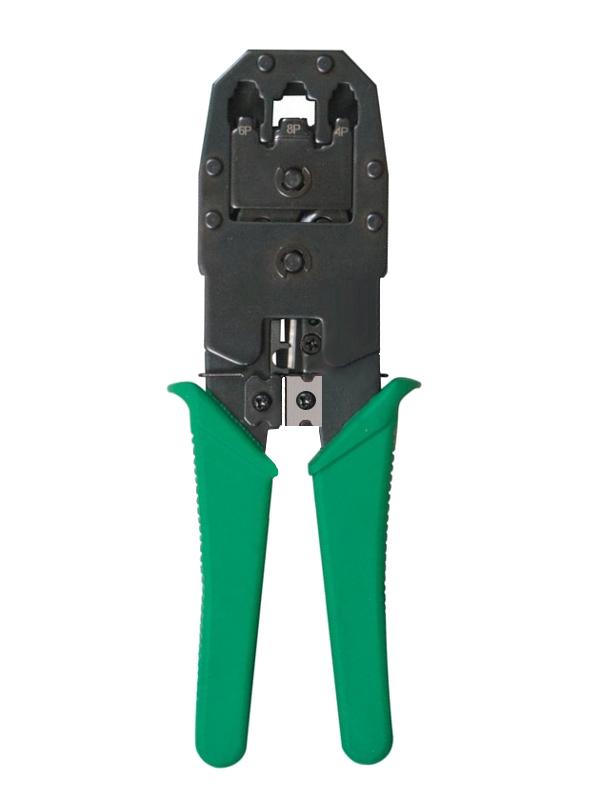 держатель третья рука rexant zd 10r с лупой 2 5x ht 390 12 0251 4 Кримпер Rexant 8P8C / 6P6C / 4P4C (HT-200/TL-315/HT-318M) 12-3441