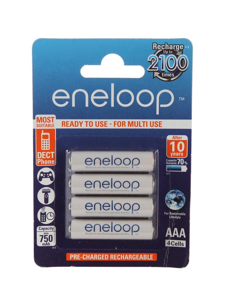 аккумуляторы аа panasonic eneloop pro 2500mah купить Аккумулятор AAA - Panasonic Eneloop 750 mAh (4 штуки) BK-4MCCE/4BE