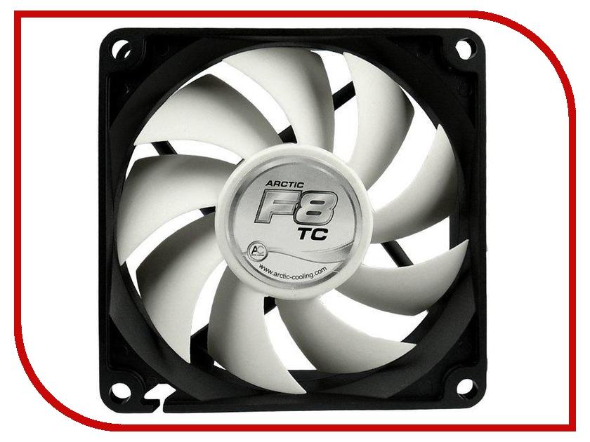 Вентилятор Arctic Cooling F8 TC термодатчик AFACO-080T0-GBA01 80mm  - купить со скидкой