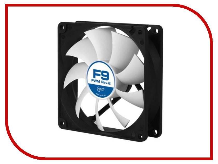 Купить Вентилятор Arctic Cooling F9 PWM Rev.2 AFACO-090P2-GBA01 90mm