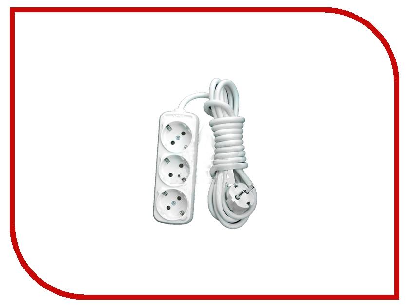 Купить Удлинитель LUX У3-Е-03 3 Sockets 3m 16A