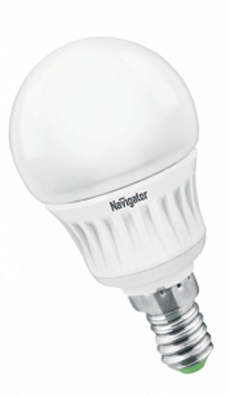 Лампочка Navigator NLL-G45-5-230-4K-E14 94 131