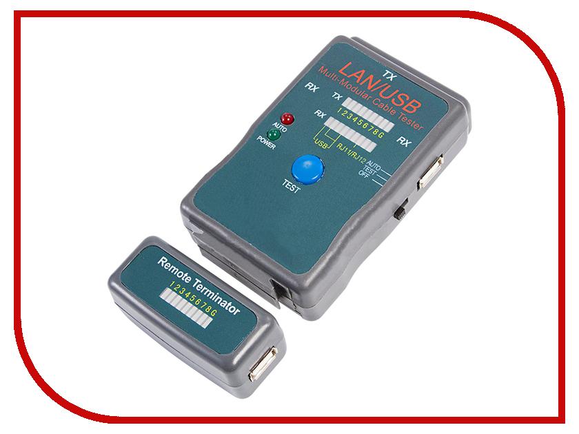 Купить Тестер Rexant RJ-45+USB (HY-251454CT) 12-1011