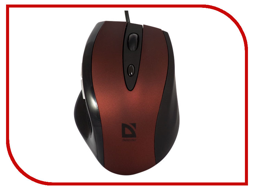 Купить Мышь Defender Opera 880 Red 52832