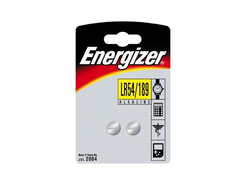 Батарейка LR54 189 - Energizer Alkaline 1.5V (2 штуки) 639320 / 21424