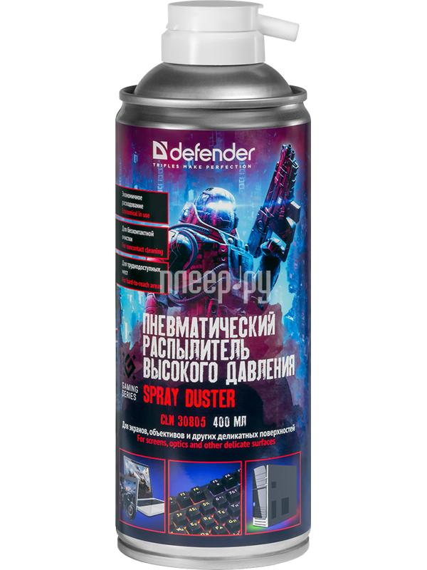 Фото - Аксессуар Defender CLN 30805 Gaming 400ml 30808 салфетки чистящие defender eco cln 30300