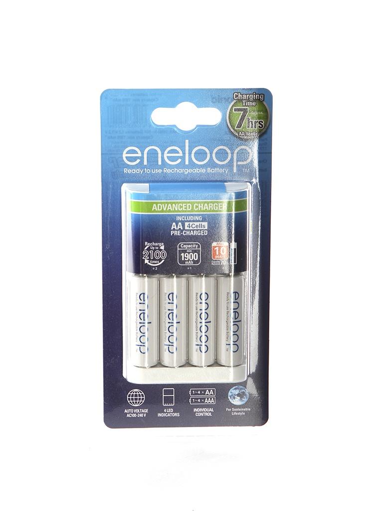 аккумуляторы аа panasonic eneloop pro 2500mah купить Зарядное устройство Panasonic Eneloop K-KJ17MCC40E Advanced Charger + 4 ак. AA 1900 mAh