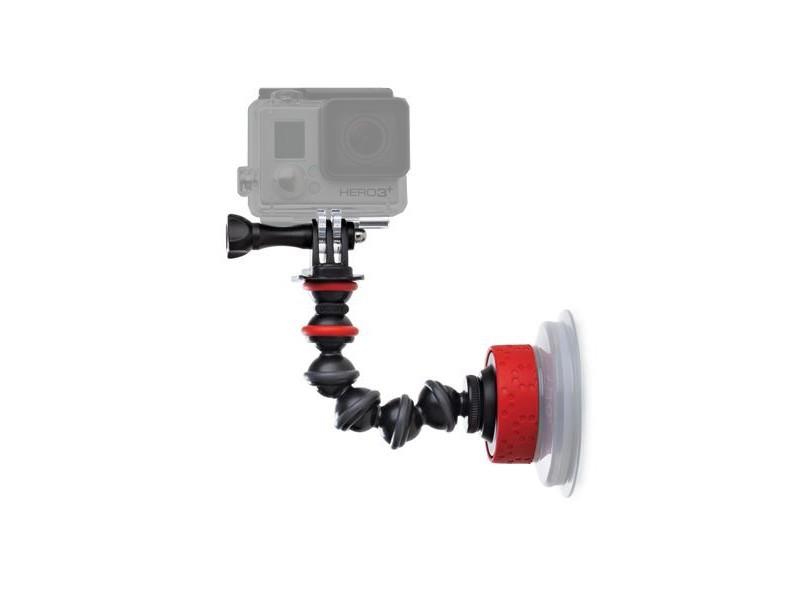 Штатив Крепление присоска Joby Suction Cup & GorillaPod Arm Black/Red JB01329-BWW