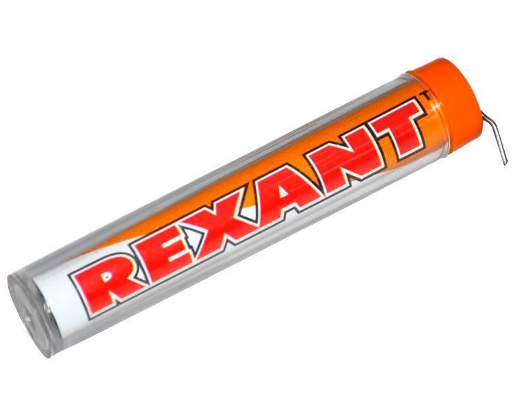 припой катушка пм пос 61 50г 1 5мм с канифолью 14480 Припой с канифолью Rexant 10g DIA 1.0mm 09-3101