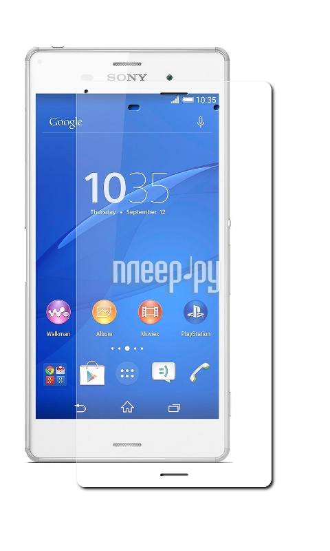 z3 plus Аксессуар Защитное стекло Onext для Sony Xperia Z3 40816