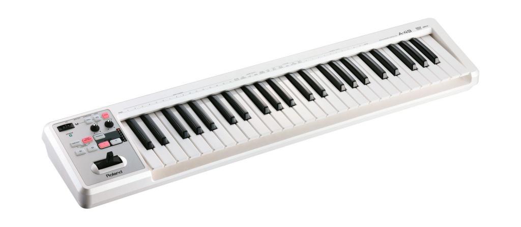roland f 140r wh MIDI-клавиатура Roland A-49 WH