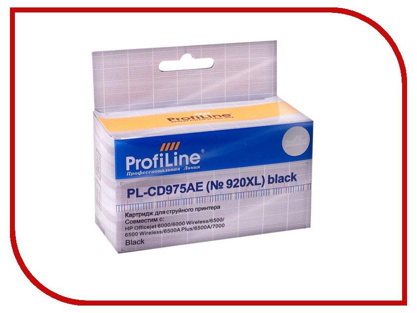 Купить Картридж ProfiLine PL-CD975AE №920XL for HP 6000/6500/7000 Black