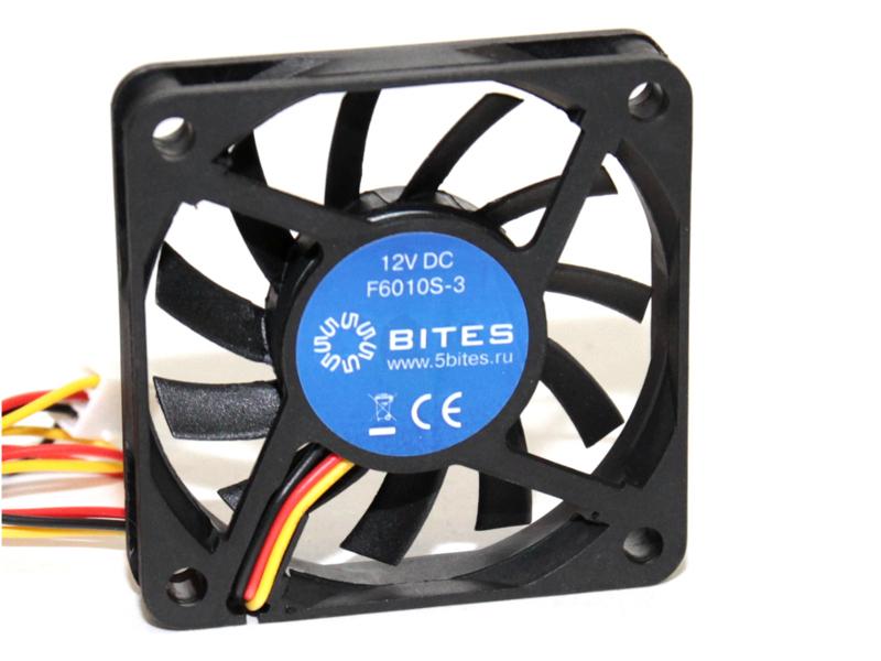 Вентилятор 5bites 60mm F6010S-3 вентилятор для корпуса 5bites f6010s 3