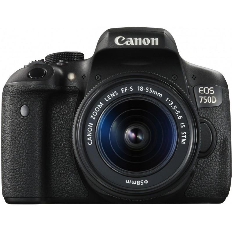 Фотоаппарат 750D Фотоаппарат Canon EOS 750D Kit 18-55 IS STM