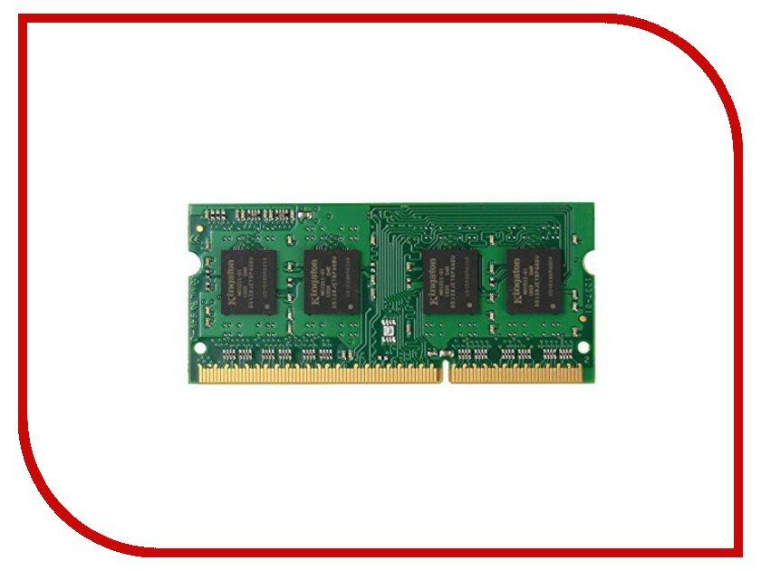 Купить Модуль памяти Kingston DDR3L SO-DIMM 1600MHz PC3-12800 CL11 - 4Gb KVR16LS11/4