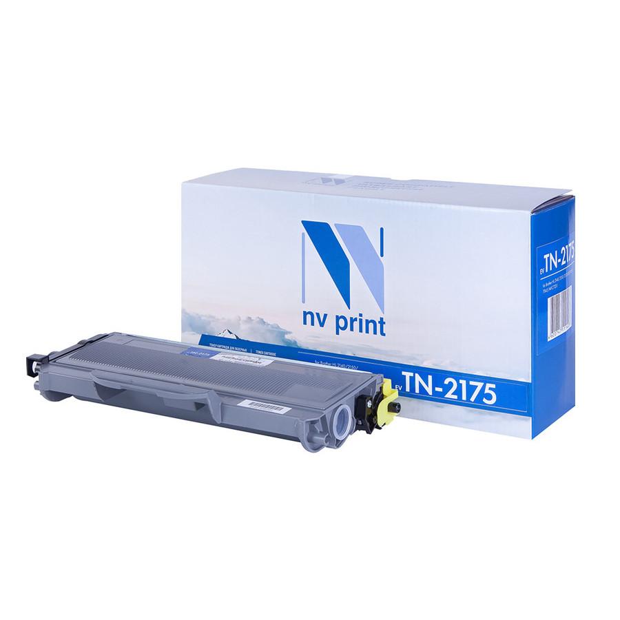 Картридж NV Print Brother TN-2175 для HL2140/2150/2170/DCP7030/7045/MFC7320 2600k