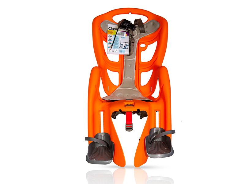 Велокресло Bellelli Pepe Clamp Orange 80073