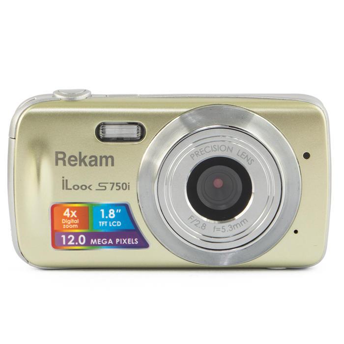 конструктор фотоаппарат Фотоаппарат Rekam iLook S750i Champagne