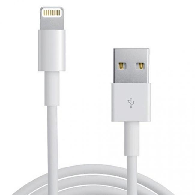 Аксессуар Gembird USB для iPhone 5 / 6 CC-USB-AP2MWP White
