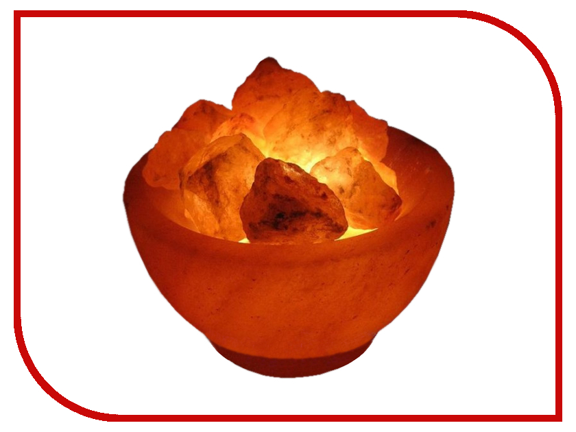 Купить Солевая лампа Wonder Life Огненная Ваза 2-2.5кг SLL-12056Д