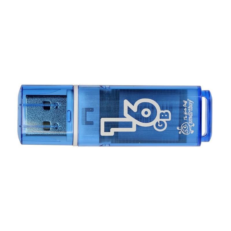 Фото - USB Flash Drive 16Gb - Smartbuy Glossy Blue SB16GBGS-B снуд button blue button blue bu019ggcrrq1