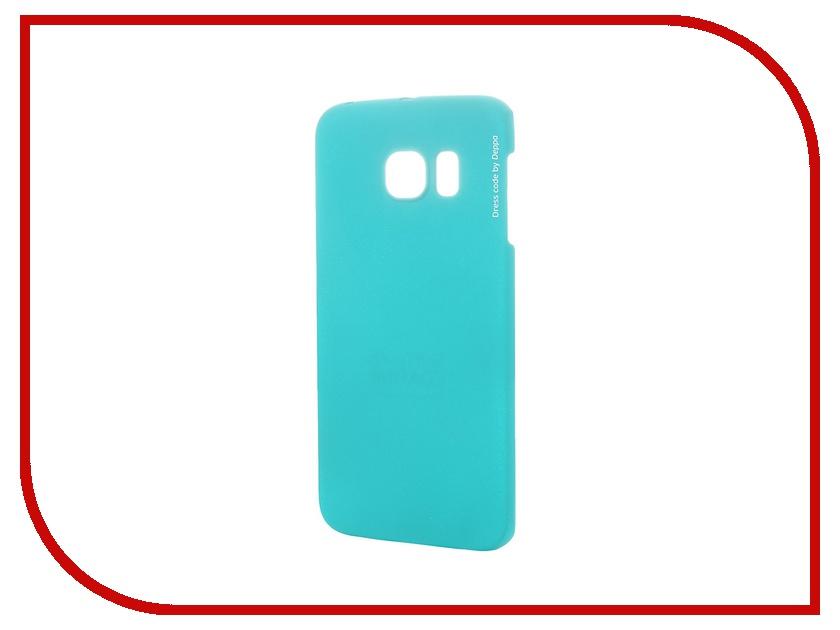 Купить Аксессуар Чехол-накладка Deppa для Samsung G925F Galaxy S6 Edge Air Case Green, Samsung Galaxy S6 Edge Air Case
